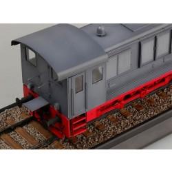 LR-T324SW Louise RC - B-ULLDOZE - 1-8 Ensemble de pneu Buggy - Monté - Doux - Jantes blanches - Hex 17mm - 1 paire