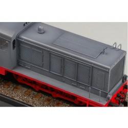 LR-T3271SW Louise RC - B-UPHILL - 1-8 Ensemble de pneu Buggy - Monté - Doux - Jantes blanches - Hex 17mm - 1 paire