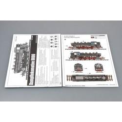 """LR-T3218C Louise RC - MT-PIONEER - 1-8 Monster Truck Tire Set - Monté - Moyen - Chrome 3.8 """"Jantes"""