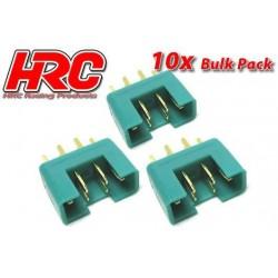 HRC9092B Connecteur - Gold - MPX – mâle (10 pces)