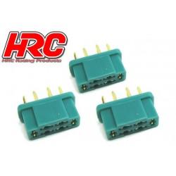 HRC9093A Connecteur - Gold - MPX - femelle (3 pces)