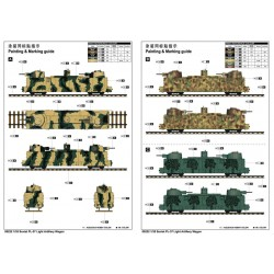 LR-T3252SB Louise RC - T-APOLLO - 1-8 Ensemble de pneu Truggy - Monté - Doux - Jantes de rayon noir - 0-Offset -