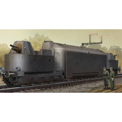 TRU00223 TRUMPETERGerman Armored Train Panzertr. 1/48
