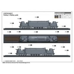 LR-T3279SWKR Louise RC - E-UPHILL - 1-10 Set de pneu Buggy - Monté - Doux - Jantes blanches - Kyosho
