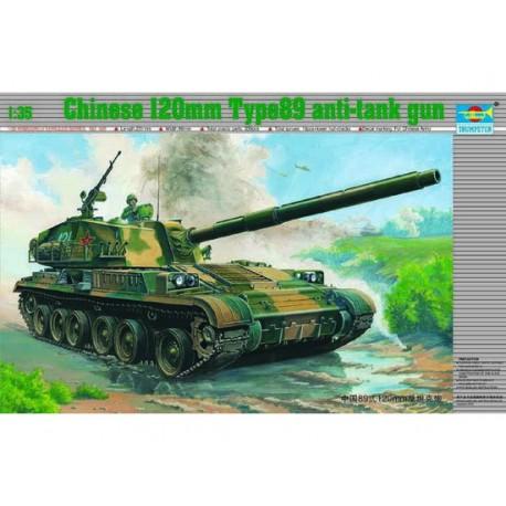 TRU00306 TRUMPETER Chin.120mm Anti-tank 1/35