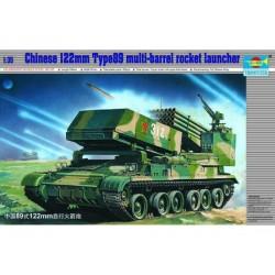 TRU00307 TRUMPETER Chin.122mm Mult.Rock.1/35