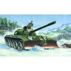 TRU00313 TRUMPETER T-55 with BTU-55 1/35