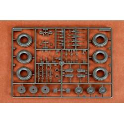 """LR-T3231VB Louise RC - CR-CHAMP - 1-10 Ensemble de pneu sur chenilles - Monté - Super Soft - Jantes noires de 1,9 """""""