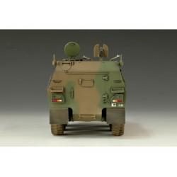 LR-T3235VB Louise RC - CR-GRIFFIN - 1-10 Ensemble de pneu sur chenilles - Monté - Super Soft - Jantes noires