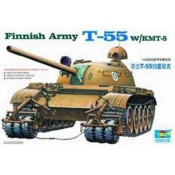 TRU00341 TRUMPETER Finnish T-55/KMT-5 1/35