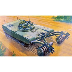 TRU00346 TRUMPETER M1 Panther II Mine. 1/35
