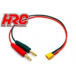 HRC9103 Câble de charge – doré - Prise Banane XT30