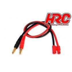 HRC9104 Câble de charge – doré - Prise Banane HXT3.5