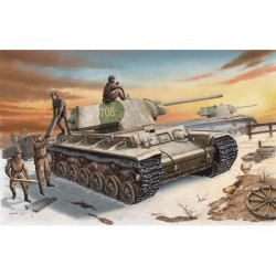 TRU00359 TRUMPETER KV-1 Mod.42 Heavy T. 1/35