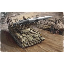 TRU00361 TRUMPETER Russian SAM 6 Tank 1/35