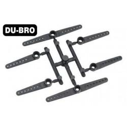 DUB934 Aircrafts Parts & Accessories - Micro Servo Arm XL (for Hitec HS-56HB, HS-65HB, HS-65MG)