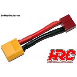 HRC9131B Adaptateur - Prise Ultra T Prise accu XT60