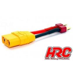 HRC9132A Adaptateur - Prise XT90 Prise accu Ultra-T