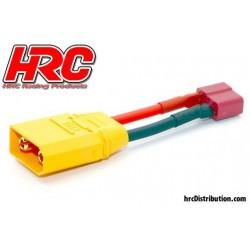 HRC9132B Adaptateur - Prise Ultra-T Prise accu XT90
