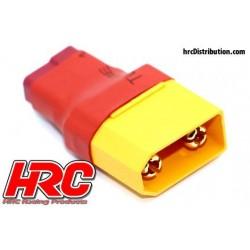 HRC9132D Adaptateur - Version Compacte - Prise Ultra-T Prise accu XT90