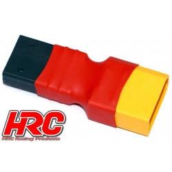 HRC9132N Adaptateur - Version Compacte - Prise TRX Prise accu XT90