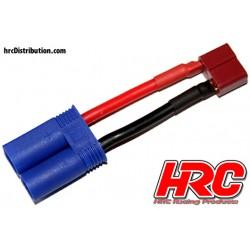 HRC9133B Adaptateur - Prise Ultra T Prise accu EC5