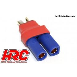 HRC9133C Adaptateur - Version Compacte - Prise EC5 Prise accu Ultra T
