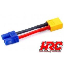 HRC9134A Adaptateur - Prise EC3 Prise accu XT60