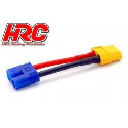 HRC9134B Adaptateur - Prise XT60 Prise accu EC3