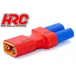 HRC9134R Adaptateur - Version Compacte - Prise EC5 Prise accu XT60