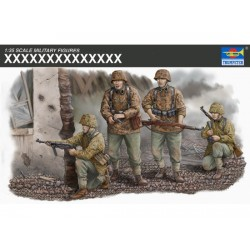 TRU00405 TRUMPETER Waffen SS Assault T. 1/35