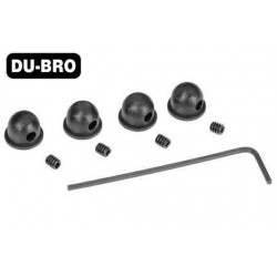 DUB944 Aircrafts Parts & Accessories - 1/16'' (1.5mm) Micro Wheel Collars (4 pcs per package)