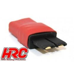 HRC9137D Adaptateur - Version Compacte - Prise Ultra T Prise accu TRX