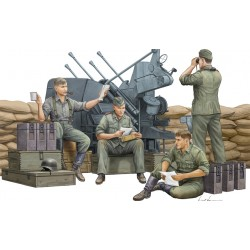 TRU00432 TRUMPETER German Anti-Aircraft Gun Crew 1/35