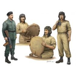 TRU00439 TRUMPETER Iraqi Tank Crew 1/35