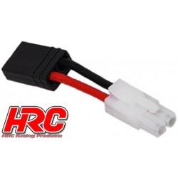 HRC9141A Adaptateur - Prise TRX Prise accu Tamiya