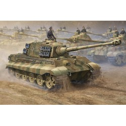 TRU00910 TRUMPETER King Tiger 2 in 1 1/16