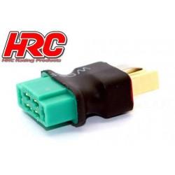 HRC9146D Adaptateur - Version Compacte - Prise MPX Prise accu Ultra-T