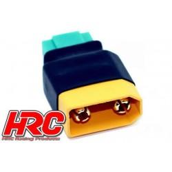 HRC9149C Adaptateur - Version Compacte - Prise MPX Prise accu XT90