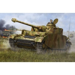 TRU00920 TRUMPETER German Pskpfw IV Medium Tank 1/16
