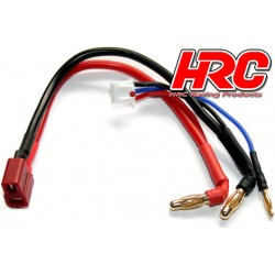 HRC9151D Câble Charge & Drive - Prise Gold 4mm prise Ultra T & Balancer
