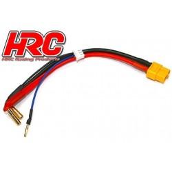 HRC9151Y Câble Charge & Drive - Prise Gold 4mm prise XT60 & Balancer