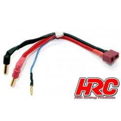 HRC9152D Câble Charge & Drive - Prise Gold 5mm prise Ultra T & Balancer