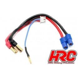 HRC9152E Câble Charge & Drive - Prise gold 5mm prise EC3 & Balancer