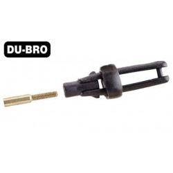 DUB973 Aircrafts Parts & Accessories - Long Arm Micro Clevis (.032'') - Black (2 pcs per package)