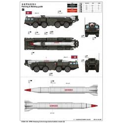 G-Force RC - Vis à tête cylindrique, M5X10, Nylon (5pcs)