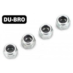 DUB2101 Nuts - 3mm Nylon Insert Lock Nuts (4 pcs per package)