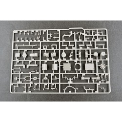 "G-Force RC - Ecrou hexagonal autobloquant M5 ""Gun Metal"", Aluminium (10pcs)"