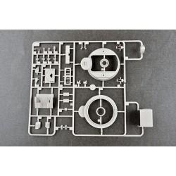 """G-Force RC - Ecrou hexagonal autobloquant M5 """"Rouge"""", Aluminium (10pcs)"""