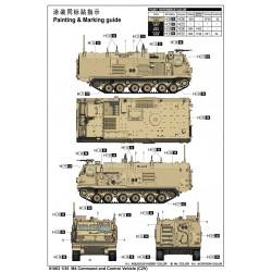 """G-Force RC - Rondelles M4 """"Blue"""" pour vis à tête conique, Aluminium (10pcs)"""